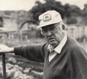 Company founder Frank Johnston
