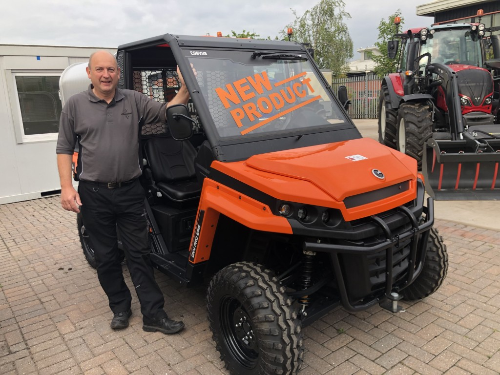 Corvus UTV with David Winthrop from Johnston Tractors
