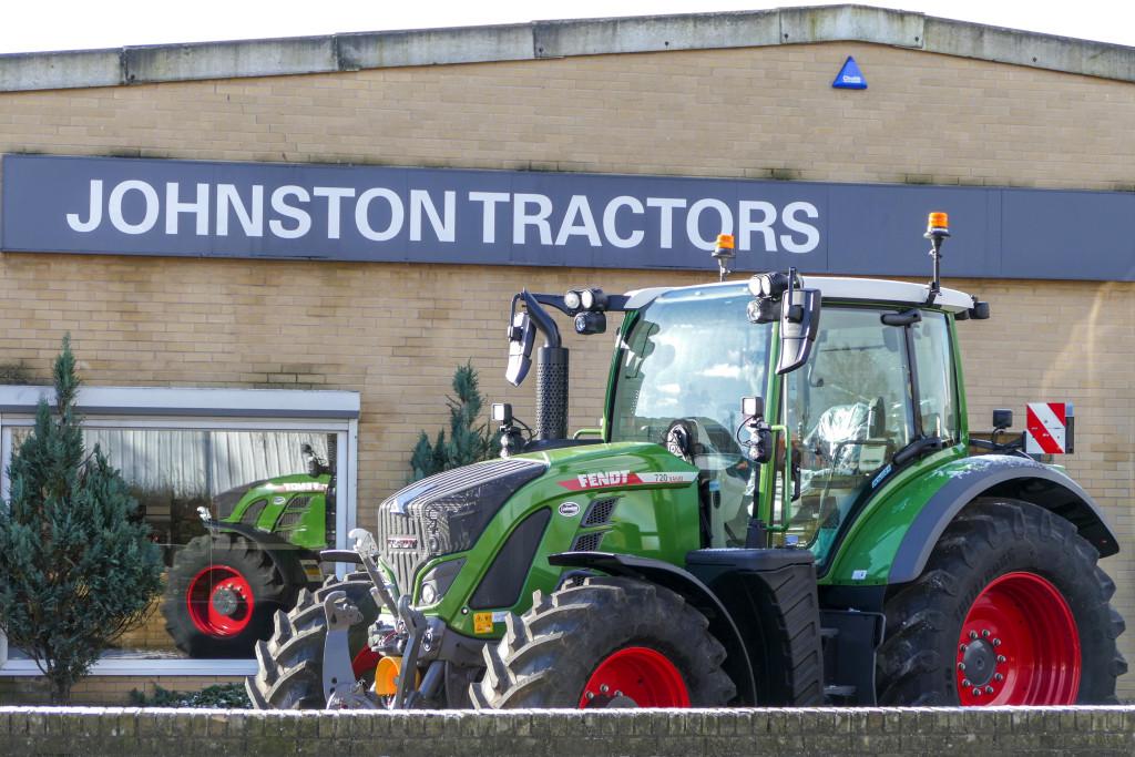 Fendt 720 Vario tractor at Johnston Tractors Carlisle