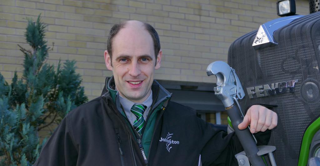 Richard Morton, Fendt Product Specialist at Johnston Tractors
