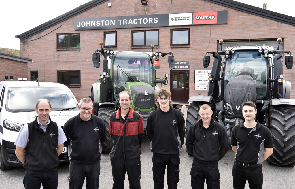 Johnston Tractors Penrith Team